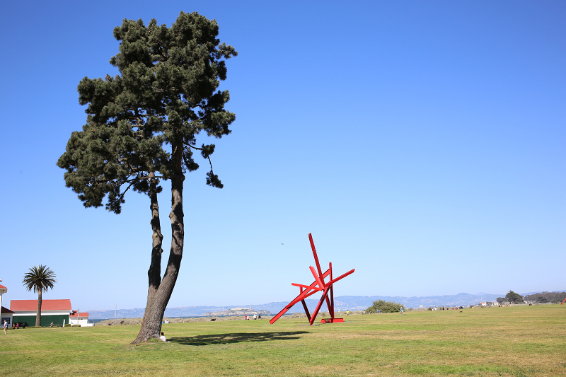 Mark Di Suvero - Are Years What?  at Crissy Fields in San Francisco