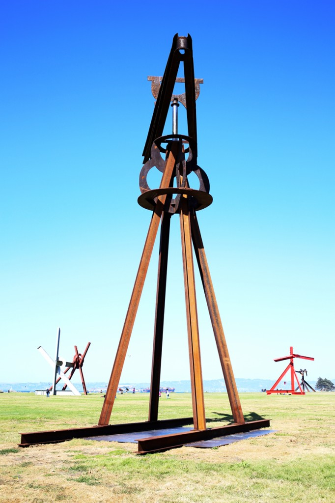 Mark Di Suvero - Dreamcatcher at Crissy Fields in San Francisco