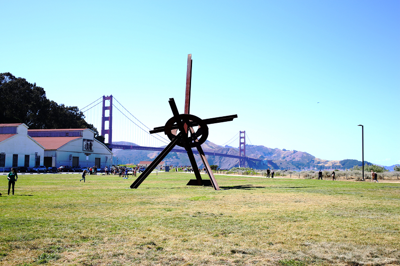 Mark Di Suvero - Will at Crissy Fields in San Francisco