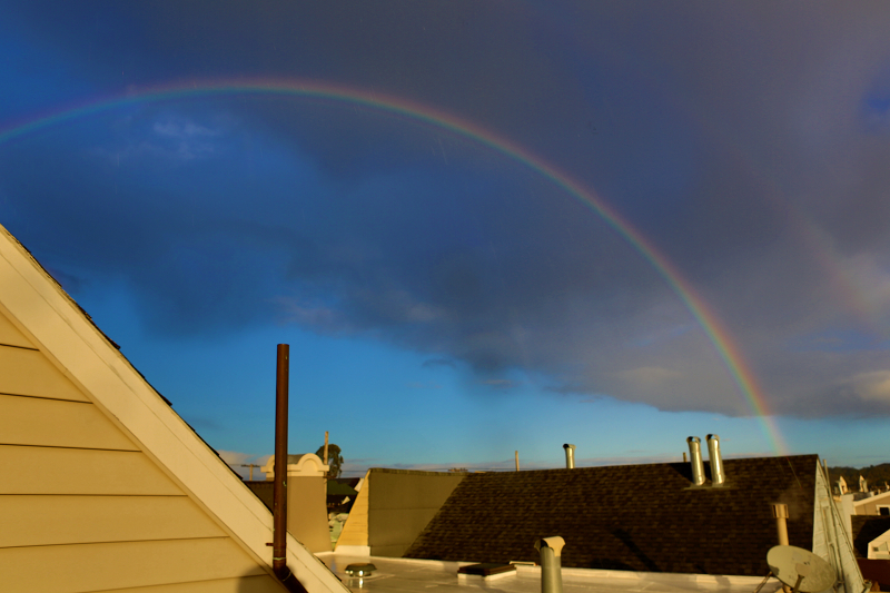 San Francisco Rainbow in HDR