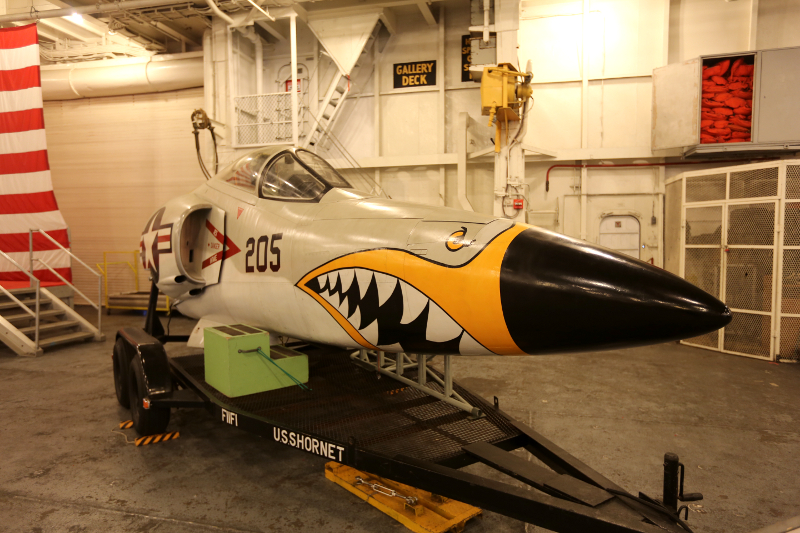 F11 Nose section USS Hornet CVS 12